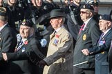 March Past, Remembrance Sunday at the Cenotaph 2016: B10 Royal Army Ordnance Corps Association (RAOC). Cenotaph, Whitehall, London SW1, London, Greater London, United Kingdom, on 13 November 2016 at 12:47, image #456