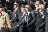 March Past, Remembrance Sunday at the Cenotaph 2016: B10 Royal Army Ordnance Corps Association (RAOC). Cenotaph, Whitehall, London SW1, London, Greater London, United Kingdom, on 13 November 2016 at 12:47, image #457