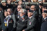 March Past, Remembrance Sunday at the Cenotaph 2016: B10 Royal Army Ordnance Corps Association (RAOC). Cenotaph, Whitehall, London SW1, London, Greater London, United Kingdom, on 13 November 2016 at 12:47, image #458