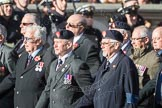 March Past, Remembrance Sunday at the Cenotaph 2016: B10 Royal Army Ordnance Corps Association (RAOC). Cenotaph, Whitehall, London SW1, London, Greater London, United Kingdom, on 13 November 2016 at 12:47, image #459