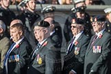 March Past, Remembrance Sunday at the Cenotaph 2016: B10 Royal Army Ordnance Corps Association (RAOC). Cenotaph, Whitehall, London SW1, London, Greater London, United Kingdom, on 13 November 2016 at 12:47, image #461