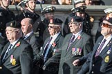 March Past, Remembrance Sunday at the Cenotaph 2016: B10 Royal Army Ordnance Corps Association (RAOC). Cenotaph, Whitehall, London SW1, London, Greater London, United Kingdom, on 13 November 2016 at 12:47, image #462