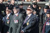 March Past, Remembrance Sunday at the Cenotaph 2016: B10 Royal Army Ordnance Corps Association (RAOC). Cenotaph, Whitehall, London SW1, London, Greater London, United Kingdom, on 13 November 2016 at 12:47, image #463