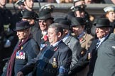 March Past, Remembrance Sunday at the Cenotaph 2016: B11 Army Catering Corps Association. Cenotaph, Whitehall, London SW1, London, Greater London, United Kingdom, on 13 November 2016 at 12:47, image #465