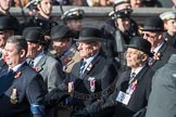 March Past, Remembrance Sunday at the Cenotaph 2016: B11 Army Catering Corps Association. Cenotaph, Whitehall, London SW1, London, Greater London, United Kingdom, on 13 November 2016 at 12:47, image #466