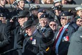 March Past, Remembrance Sunday at the Cenotaph 2016: B11 Army Catering Corps Association. Cenotaph, Whitehall, London SW1, London, Greater London, United Kingdom, on 13 November 2016 at 12:47, image #467