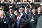 March Past, Remembrance Sunday at the Cenotaph 2016: B12 Royal Pioneer Corps Association. Cenotaph, Whitehall, London SW1, London, Greater London, United Kingdom, on 13 November 2016 at 12:47, image #468