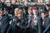 March Past, Remembrance Sunday at the Cenotaph 2016: B12 Royal Pioneer Corps Association. Cenotaph, Whitehall, London SW1, London, Greater London, United Kingdom, on 13 November 2016 at 12:47, image #470