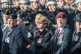 March Past, Remembrance Sunday at the Cenotaph 2016: B12 Royal Pioneer Corps Association. Cenotaph, Whitehall, London SW1, London, Greater London, United Kingdom, on 13 November 2016 at 12:47, image #471