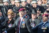 March Past, Remembrance Sunday at the Cenotaph 2016: B12 Royal Pioneer Corps Association. Cenotaph, Whitehall, London SW1, London, Greater London, United Kingdom, on 13 November 2016 at 12:47, image #472