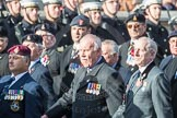 March Past, Remembrance Sunday at the Cenotaph 2016: B12 Royal Pioneer Corps Association. Cenotaph, Whitehall, London SW1, London, Greater London, United Kingdom, on 13 November 2016 at 12:47, image #474