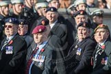 March Past, Remembrance Sunday at the Cenotaph 2016: B12 Royal Pioneer Corps Association. Cenotaph, Whitehall, London SW1, London, Greater London, United Kingdom, on 13 November 2016 at 12:47, image #476