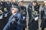 March Past, Remembrance Sunday at the Cenotaph 2016: B13 Royal Army Medical Corps Association. Cenotaph, Whitehall, London SW1, London, Greater London, United Kingdom, on 13 November 2016 at 12:48, image #516