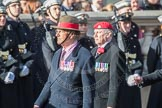 March Past, Remembrance Sunday at the Cenotaph 2016: B14 Royal Military Police Association. Cenotaph, Whitehall, London SW1, London, Greater London, United Kingdom, on 13 November 2016 at 12:48, image #519