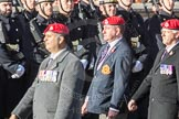 March Past, Remembrance Sunday at the Cenotaph 2016: B14 Royal Military Police Association. Cenotaph, Whitehall, London SW1, London, Greater London, United Kingdom, on 13 November 2016 at 12:48, image #522