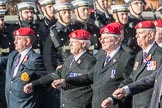 March Past, Remembrance Sunday at the Cenotaph 2016: B14 Royal Military Police Association. Cenotaph, Whitehall, London SW1, London, Greater London, United Kingdom, on 13 November 2016 at 12:48, image #524