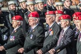 March Past, Remembrance Sunday at the Cenotaph 2016: B14 Royal Military Police Association. Cenotaph, Whitehall, London SW1, London, Greater London, United Kingdom, on 13 November 2016 at 12:48, image #525