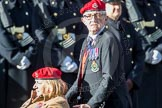March Past, Remembrance Sunday at the Cenotaph 2016: B14 Royal Military Police Association. Cenotaph, Whitehall, London SW1, London, Greater London, United Kingdom, on 13 November 2016 at 12:49, image #542