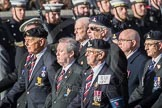 March Past, Remembrance Sunday at the Cenotaph 2016: B16 Royal Army Pay Corps Regimental Association. Cenotaph, Whitehall, London SW1, London, Greater London, United Kingdom, on 13 November 2016 at 12:49, image #548