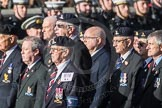 March Past, Remembrance Sunday at the Cenotaph 2016: B16 Royal Army Pay Corps Regimental Association. Cenotaph, Whitehall, London SW1, London, Greater London, United Kingdom, on 13 November 2016 at 12:49, image #549