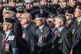 March Past, Remembrance Sunday at the Cenotaph 2016: B16 Royal Army Pay Corps Regimental Association. Cenotaph, Whitehall, London SW1, London, Greater London, United Kingdom, on 13 November 2016 at 12:49, image #550