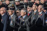 March Past, Remembrance Sunday at the Cenotaph 2016: B16 Royal Army Pay Corps Regimental Association. Cenotaph, Whitehall, London SW1, London, Greater London, United Kingdom, on 13 November 2016 at 12:49, image #551
