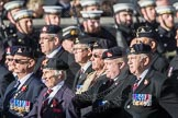 March Past, Remembrance Sunday at the Cenotaph 2016: B16 Royal Army Pay Corps Regimental Association. Cenotaph, Whitehall, London SW1, London, Greater London, United Kingdom, on 13 November 2016 at 12:49, image #554
