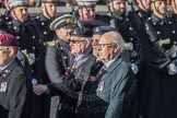 March Past, Remembrance Sunday at the Cenotaph 2016: B16 Royal Army Pay Corps Regimental Association. Cenotaph, Whitehall, London SW1, London, Greater London, United Kingdom, on 13 November 2016 at 12:49, image #559