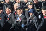 March Past, Remembrance Sunday at the Cenotaph 2016: B17 Royal Army Veterinary Corps & Royal Army Dental Corps. Cenotaph, Whitehall, London SW1, London, Greater London, United Kingdom, on 13 November 2016 at 12:49, image #567