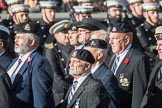 March Past, Remembrance Sunday at the Cenotaph 2016: B24 The Royal Lancers. Cenotaph, Whitehall, London SW1, London, Greater London, United Kingdom, on 13 November 2016 at 12:50, image #650