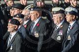 March Past, Remembrance Sunday at the Cenotaph 2016: B24 The Royal Lancers. Cenotaph, Whitehall, London SW1, London, Greater London, United Kingdom, on 13 November 2016 at 12:50, image #652