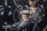 March Past, Remembrance Sunday at the Cenotaph 2016: B24 The Royal Lancers. Cenotaph, Whitehall, London SW1, London, Greater London, United Kingdom, on 13 November 2016 at 12:50, image #654