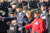 March Past, Remembrance Sunday at the Cenotaph 2016: B25 JLR RAC Old Boys' Association. Cenotaph, Whitehall, London SW1, London, Greater London, United Kingdom, on 13 November 2016 at 12:50, image #658
