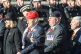 March Past, Remembrance Sunday at the Cenotaph 2016: B25 JLR RAC Old Boys' Association. Cenotaph, Whitehall, London SW1, London, Greater London, United Kingdom, on 13 November 2016 at 12:50, image #661