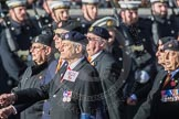 March Past, Remembrance Sunday at the Cenotaph 2016: B25 JLR RAC Old Boys' Association. Cenotaph, Whitehall, London SW1, London, Greater London, United Kingdom, on 13 November 2016 at 12:50, image #668