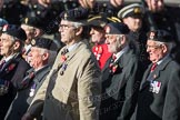 March Past, Remembrance Sunday at the Cenotaph 2016: B26 Beachley Old Boys Association. Cenotaph, Whitehall, London SW1, London, Greater London, United Kingdom, on 13 November 2016 at 12:50, image #679
