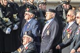 March Past, Remembrance Sunday at the Cenotaph 2016: B27 Arborfield Old Boys Association. Cenotaph, Whitehall, London SW1, London, Greater London, United Kingdom, on 13 November 2016 at 12:51, image #684
