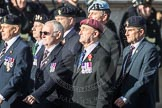 March Past, Remembrance Sunday at the Cenotaph 2016: B27 Arborfield Old Boys Association. Cenotaph, Whitehall, London SW1, London, Greater London, United Kingdom, on 13 November 2016 at 12:51, image #689