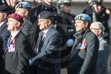 March Past, Remembrance Sunday at the Cenotaph 2016: B28 Special Observers Association. Cenotaph, Whitehall, London SW1, London, Greater London, United Kingdom, on 13 November 2016 at 12:51, image #690