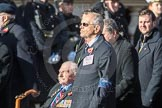 March Past, Remembrance Sunday at the Cenotaph 2016: B29 British Resistance Movement (Coleshill Auxiliary Research Team). Cenotaph, Whitehall, London SW1, London, Greater London, United Kingdom, on 13 November 2016 at 12:51, image #704