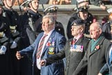 March Past, Remembrance Sunday at the Cenotaph 2016: B30 Allied command in Europe mobile force AMF(L). Cenotaph, Whitehall, London SW1, London, Greater London, United Kingdom, on 13 November 2016 at 12:51, image #709