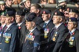 March Past, Remembrance Sunday at the Cenotaph 2016: B30 Allied command in Europe mobile force AMF(L). Cenotaph, Whitehall, London SW1, London, Greater London, United Kingdom, on 13 November 2016 at 12:51, image #714