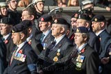 March Past, Remembrance Sunday at the Cenotaph 2016: B30 Allied command in Europe mobile force AMF(L). Cenotaph, Whitehall, London SW1, London, Greater London, United Kingdom, on 13 November 2016 at 12:51, image #715