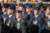 March Past, Remembrance Sunday at the Cenotaph 2016: B30 Allied command in Europe mobile force AMF(L). Cenotaph, Whitehall, London SW1, London, Greater London, United Kingdom, on 13 November 2016 at 12:51, image #716