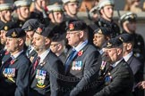 March Past, Remembrance Sunday at the Cenotaph 2016: B30 Allied command in Europe mobile force AMF(L). Cenotaph, Whitehall, London SW1, London, Greater London, United Kingdom, on 13 November 2016 at 12:51, image #719