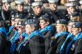 March Past, Remembrance Sunday at the Cenotaph 2016: C01 Royal Air Forces Association. Cenotaph, Whitehall, London SW1, London, Greater London, United Kingdom, on 13 November 2016 at 12:52, image #771