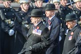 March Past, Remembrance Sunday at the Cenotaph 2016: C02 Royal Air Force Regiment Association. Cenotaph, Whitehall, London SW1, London, Greater London, United Kingdom, on 13 November 2016 at 12:52, image #777