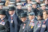 March Past, Remembrance Sunday at the Cenotaph 2016: C02 Royal Air Force Regiment Association. Cenotaph, Whitehall, London SW1, London, Greater London, United Kingdom, on 13 November 2016 at 12:52, image #778
