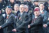 March Past, Remembrance Sunday at the Cenotaph 2016: C03 RAF Survival Equipment Assoc (RAFSE, Squippers). Cenotaph, Whitehall, London SW1, London, Greater London, United Kingdom, on 13 November 2016 at 12:52, image #811
