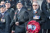 March Past, Remembrance Sunday at the Cenotaph 2016: C03 RAF Survival Equipment Assoc (RAFSE, Squippers). Cenotaph, Whitehall, London SW1, London, Greater London, United Kingdom, on 13 November 2016 at 12:52, image #814